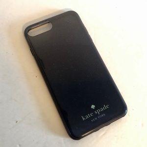 Kate Spade Navy Blue Sparkle iPhone 8 Plus Case
